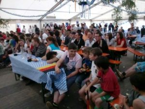 Public Viewing in Königsfeld