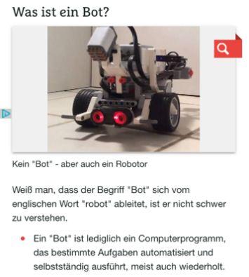 Was ist ein Bot?