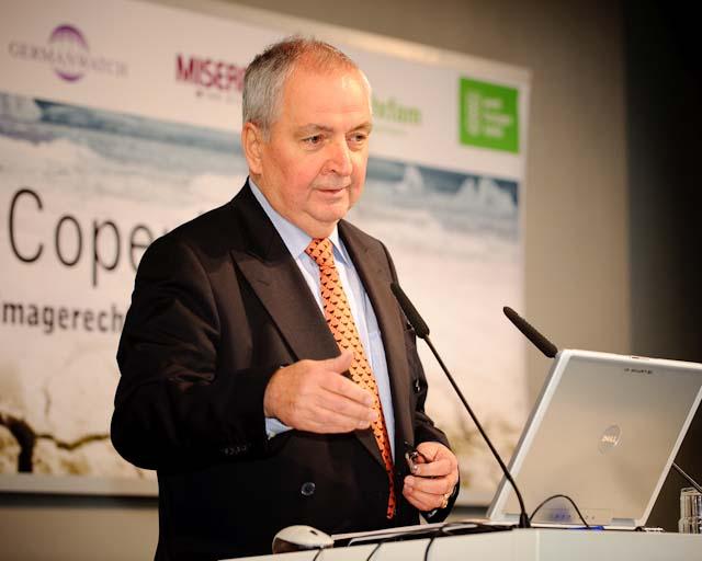 Klaus Töpfer (* 29. Juli 1938 in Waldenburg, Schlesien) ist ein deutscher Politiker (CDU) und ehemaliger Exekutivdirektor des Umweltprogramms der Vereinten Nationen. (Foto: Stephan Röhl)