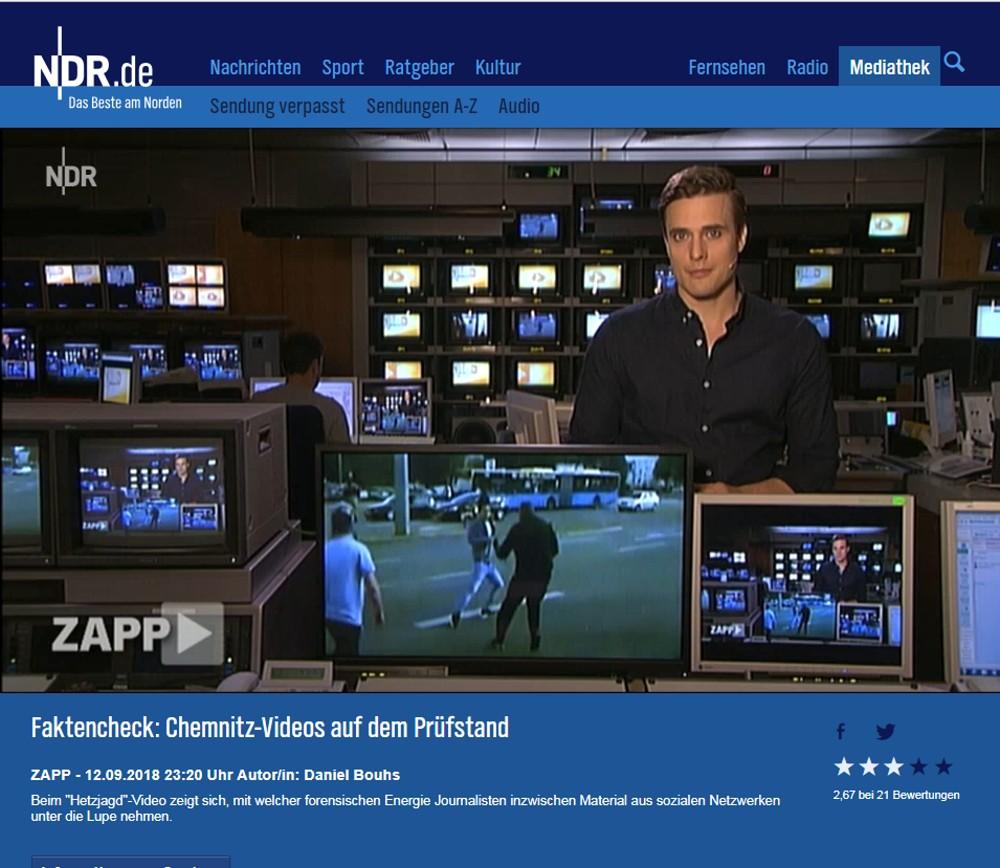 """Beim """"Hetzjagd""""-Video zeigt sich, mit welcher forensischen Energie Journalisten inzwischen Material aus sozialen Netzwerken unter die Lupe nehmen."""