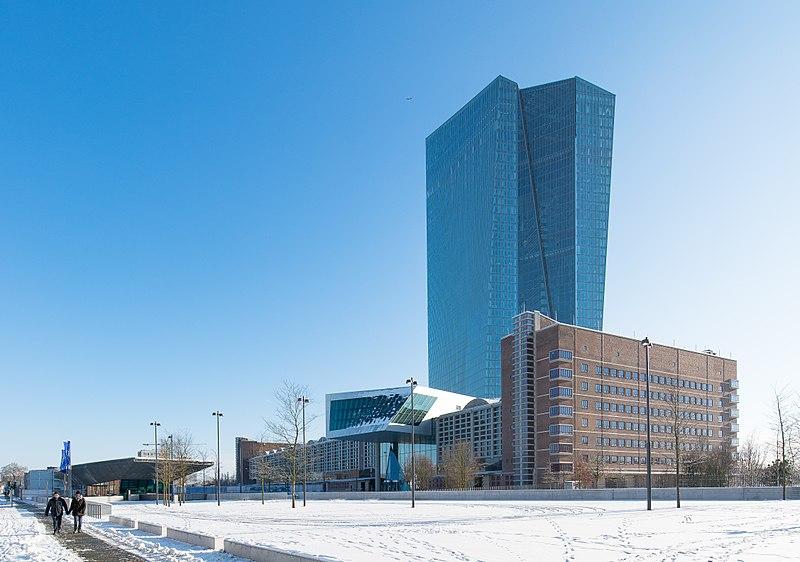 Europäische Zentralbank in frankfurt - Foto: Epizentrum