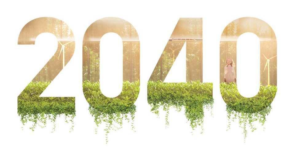 Im Jahre 2040 bist du ca. 34 - 36 Jahre alt...